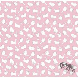 Różowe kotki