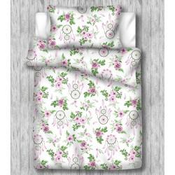 Łapacz snów różowo-zielony