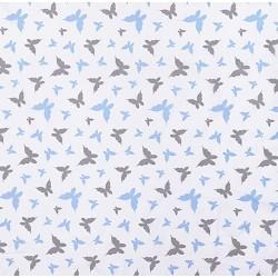 Niebiesko szare motylki