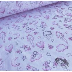 Różowe lalki szmacianki