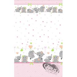 Słonie różowe w16