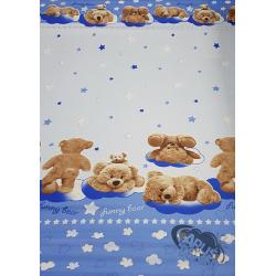 Funny bear niebieski w122