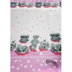 Funny bear różowy w105